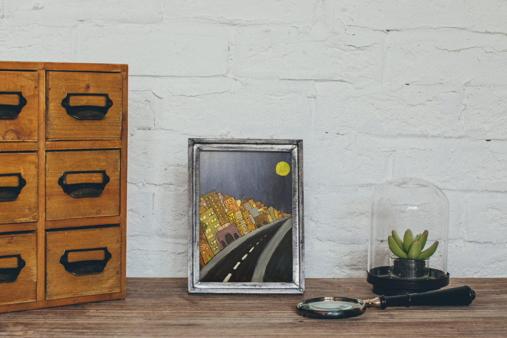 cassondra eastham painting city