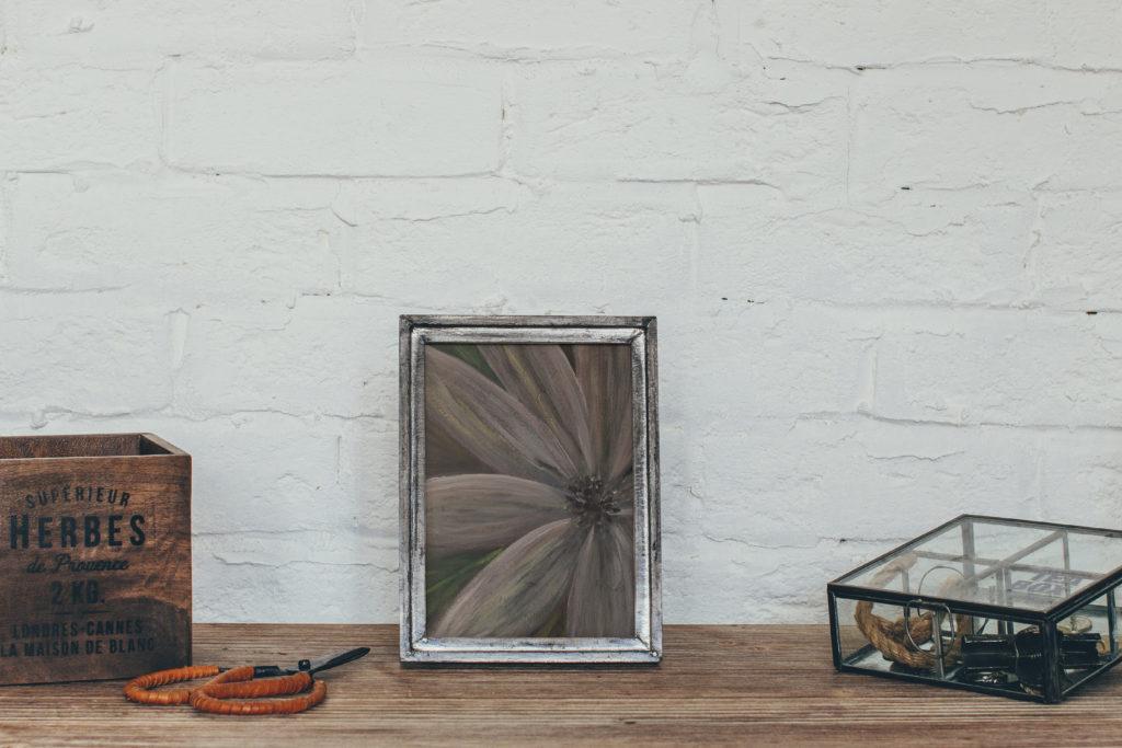 cassondra eastham painting flower