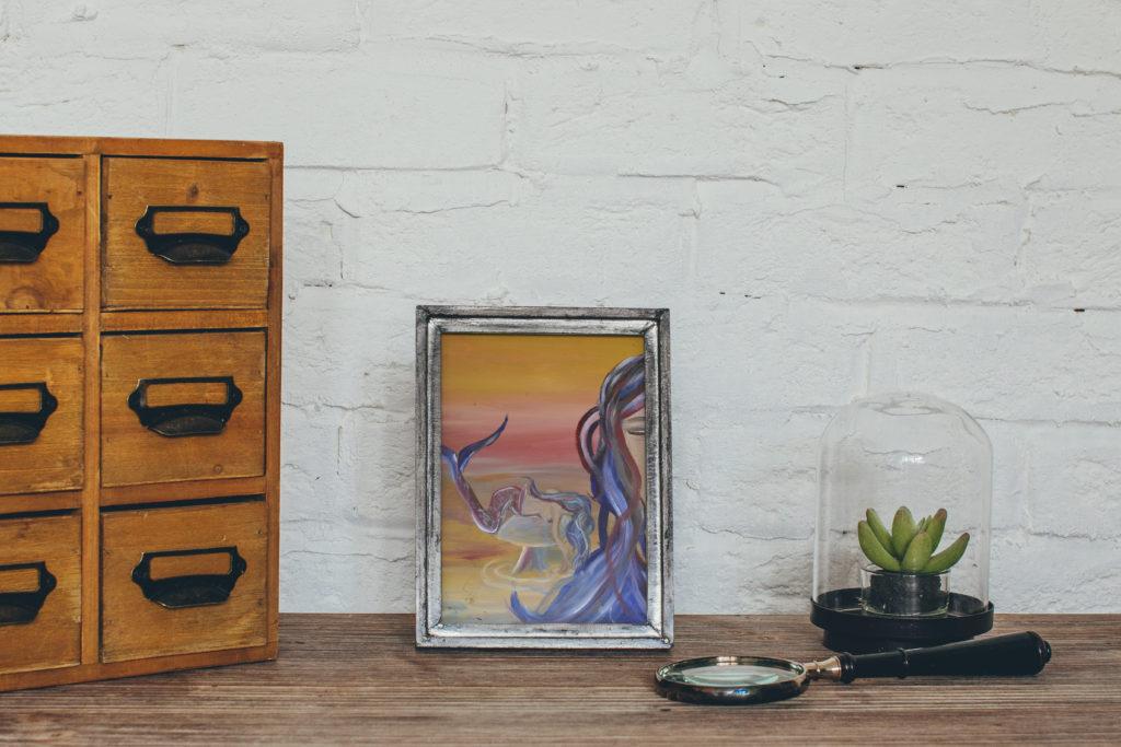 cassondra eastham painting mermaid