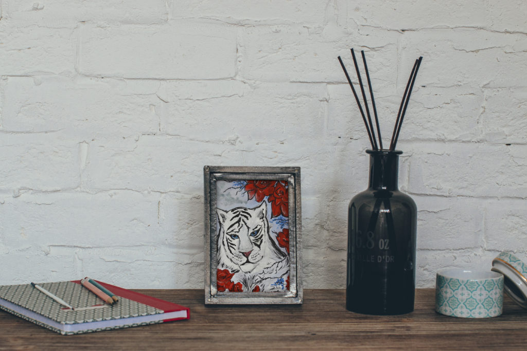 cassondra eastham painting tiger