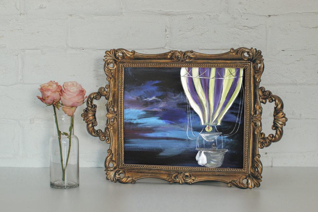 cassondra eastham painting balloon