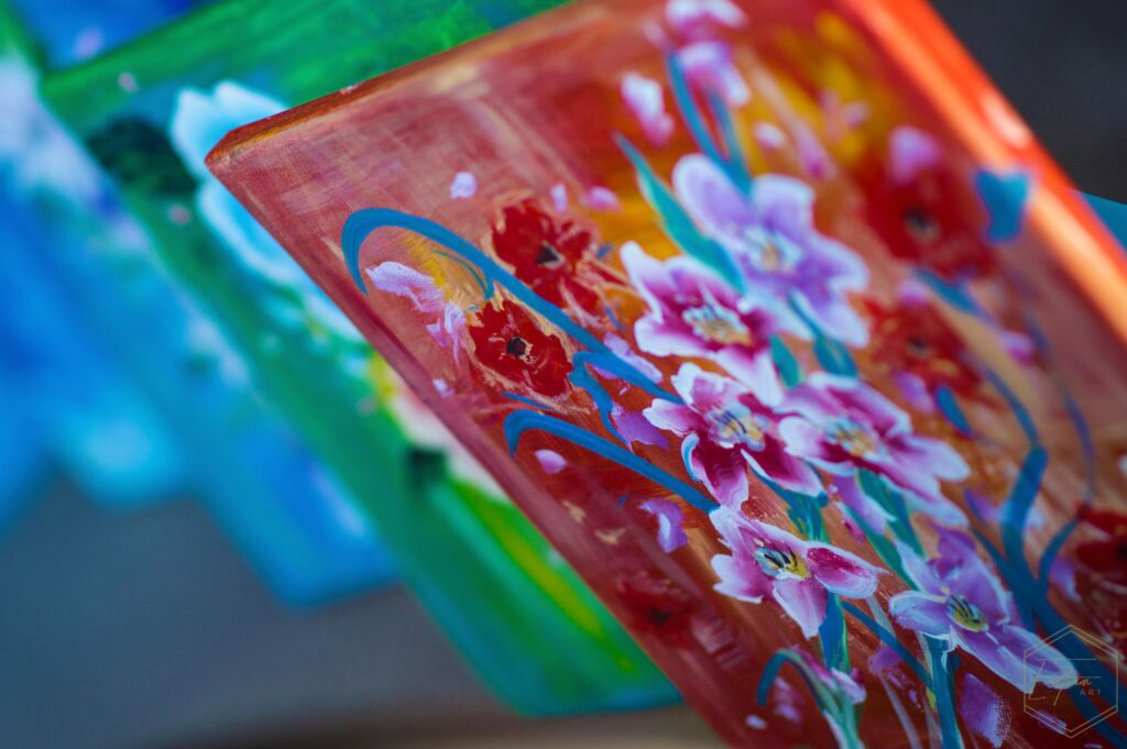 how to improve your life with painting painting montage by cassondra eastham