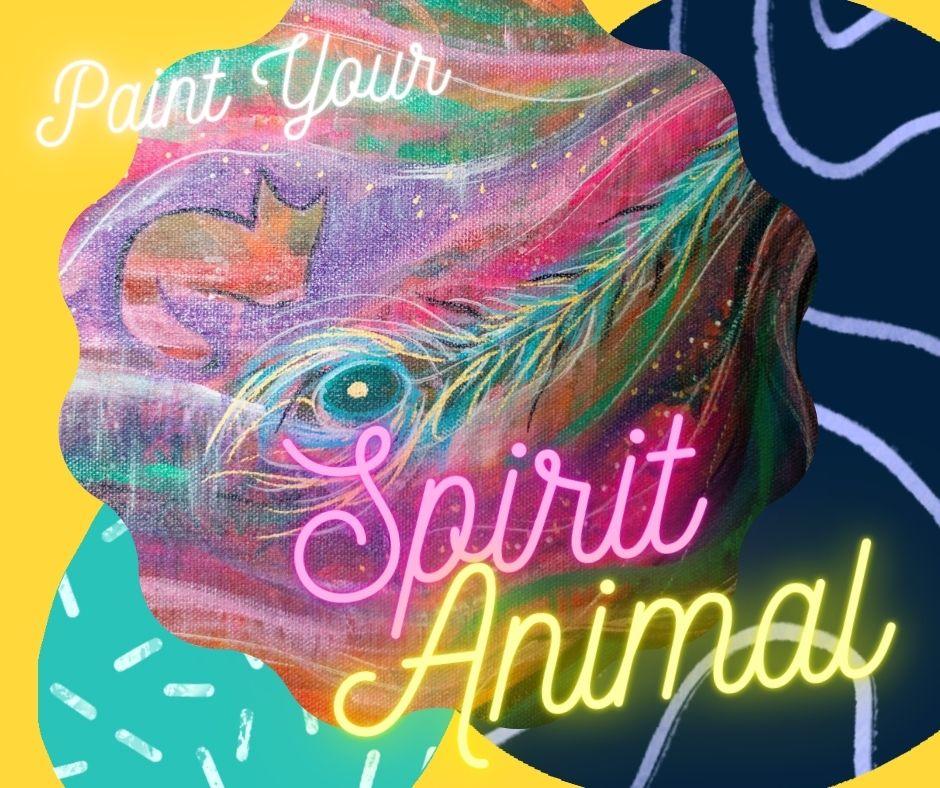 Paint you spirit animal art class by cassondra eastham