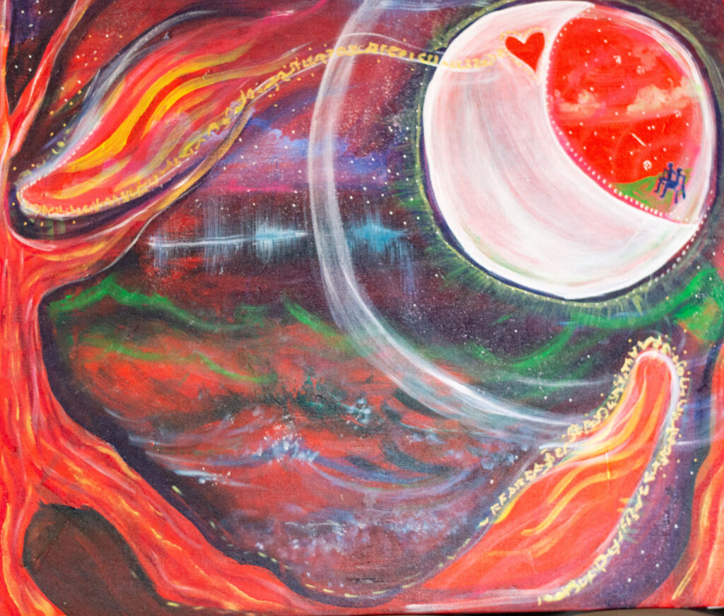 soulmate painting class by Cassondra Eastham